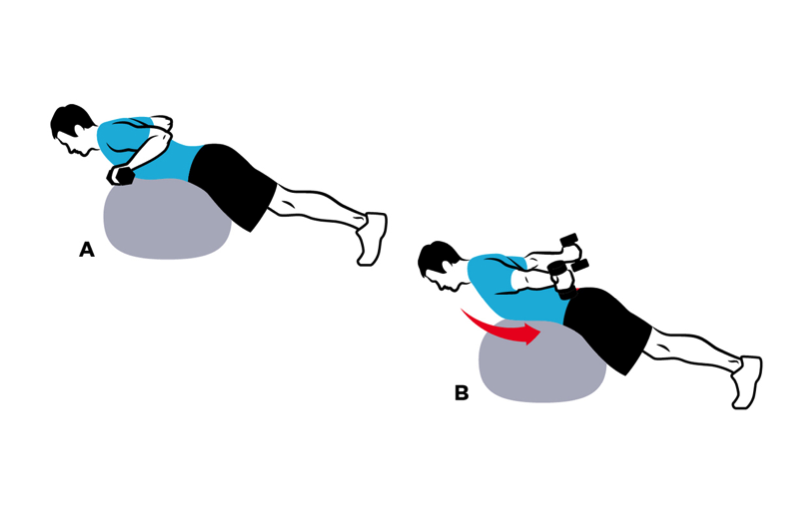 prone-ball-triceps-extension
